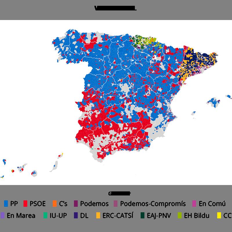 El voto rural se mantiene fiel a PP y PSOE