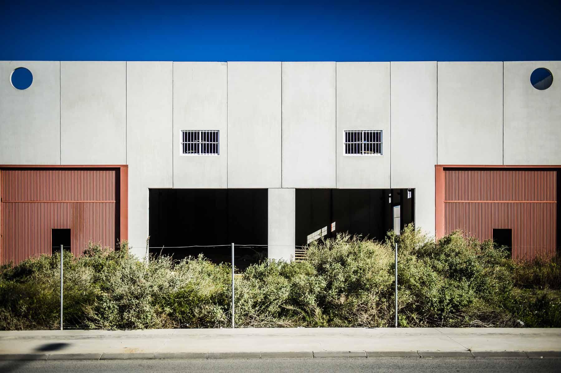 """""""Las Salinas"""" Industrial Park."""