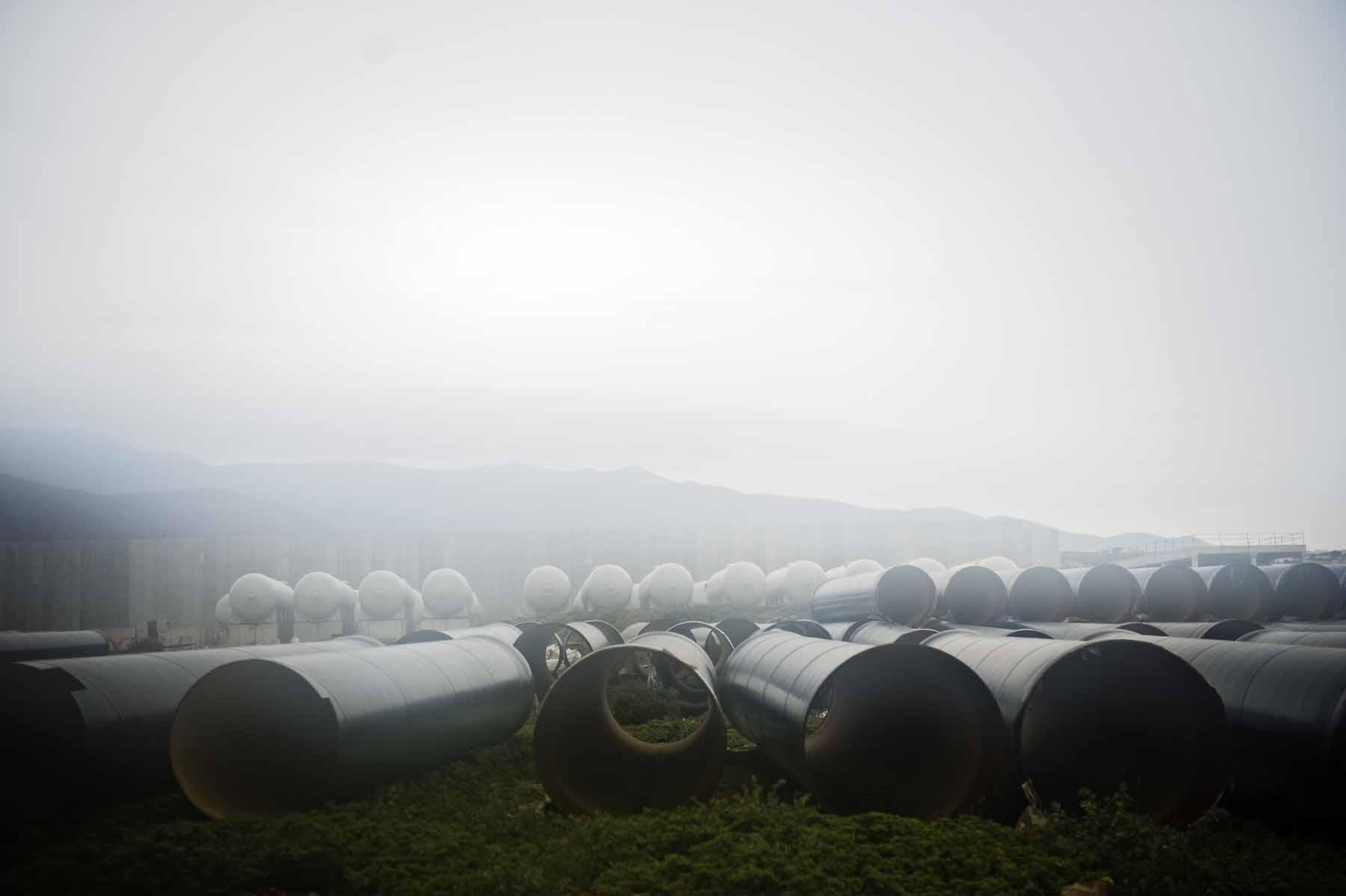 Campo de Dalías Desalination plant.
