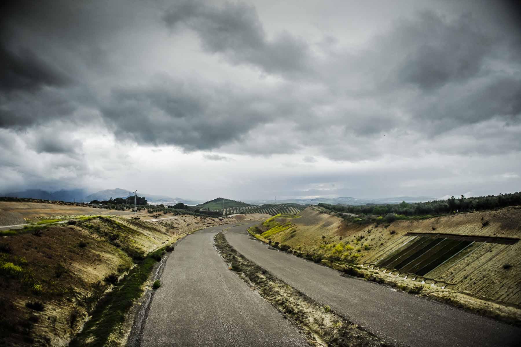 El Olivar Highway.