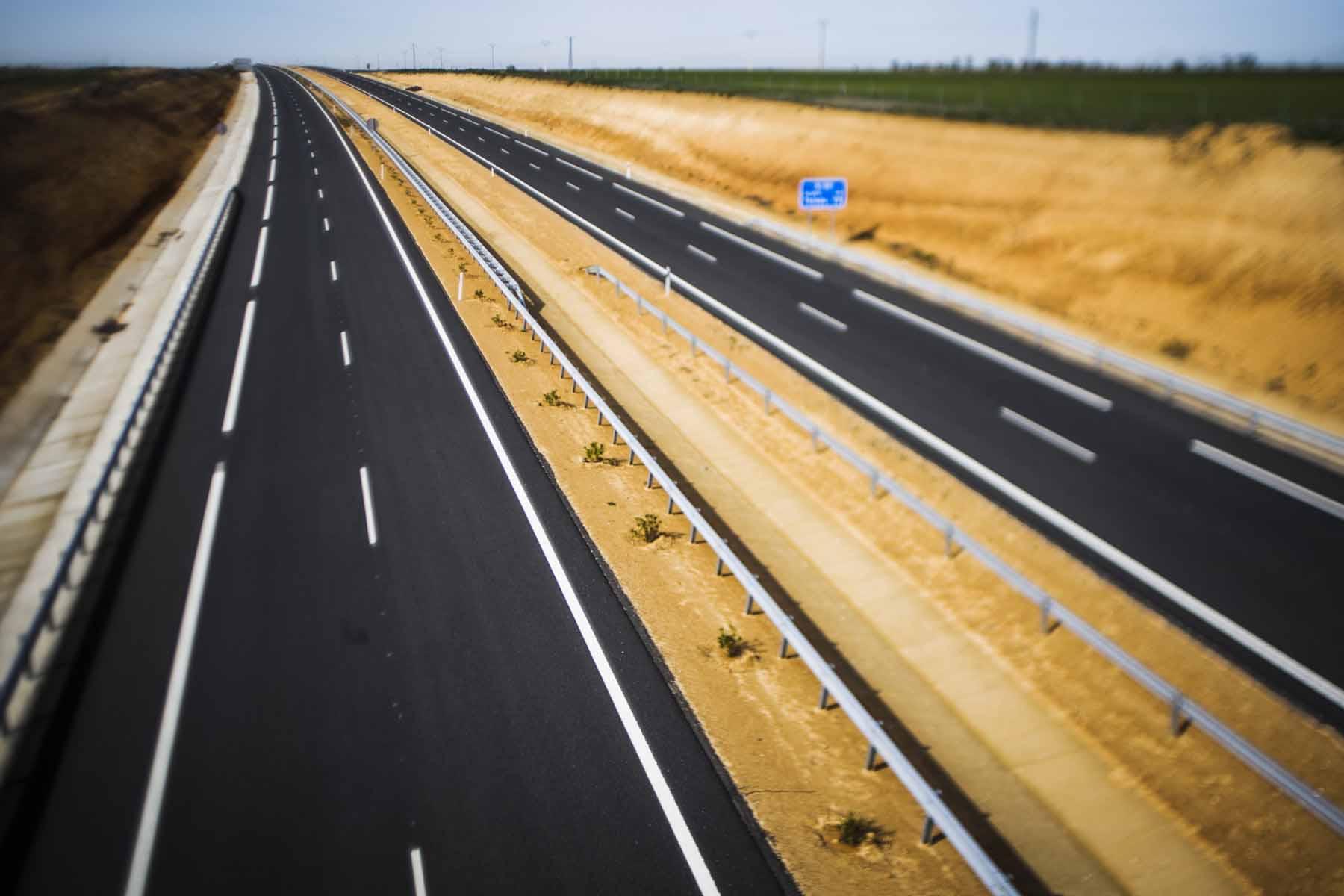 Highway A-40 Ocaña-Cuenca.