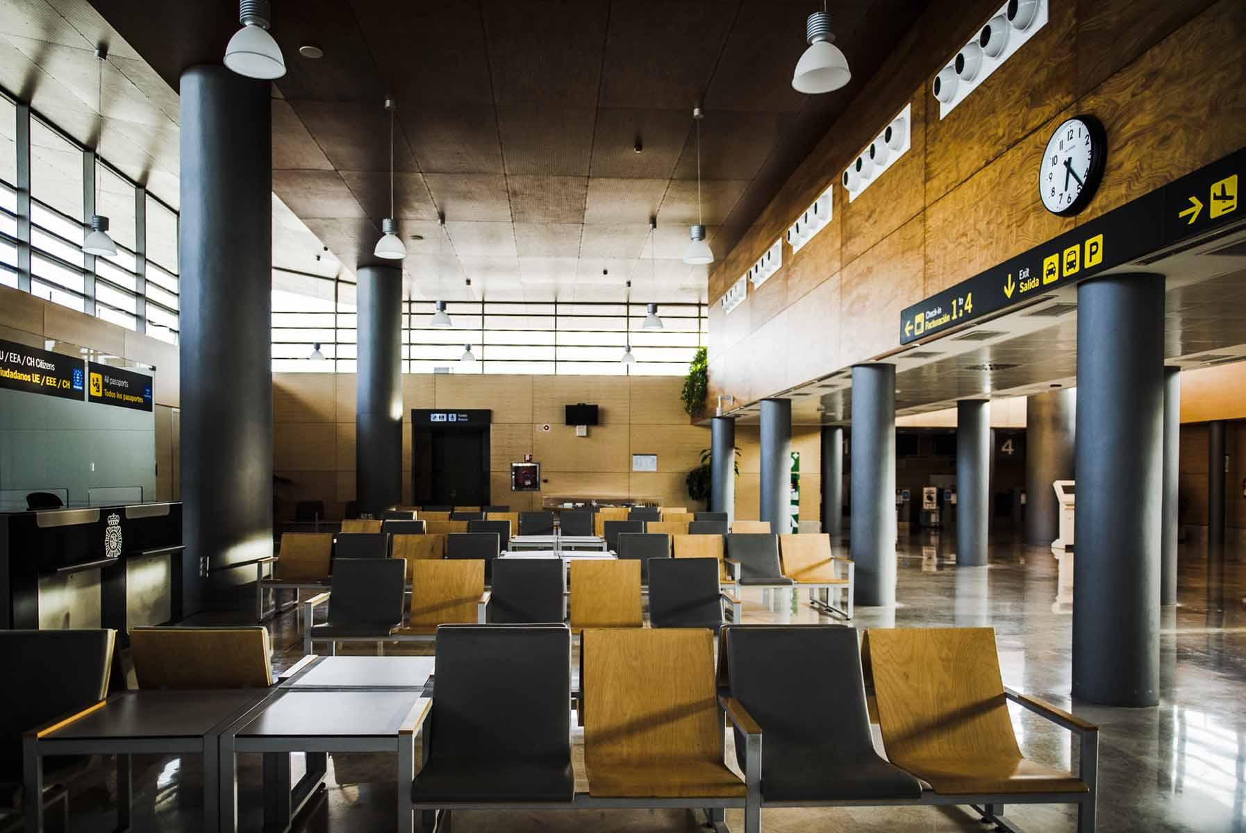 Aeropuerto de Albacete.