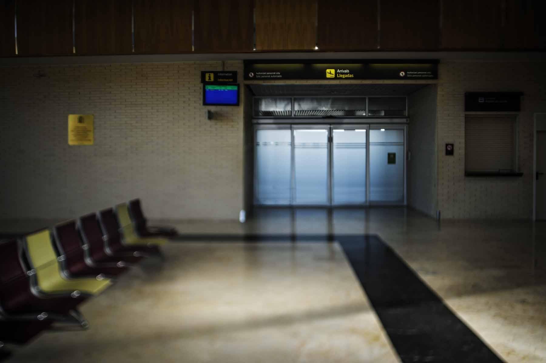 Logroño Airport.