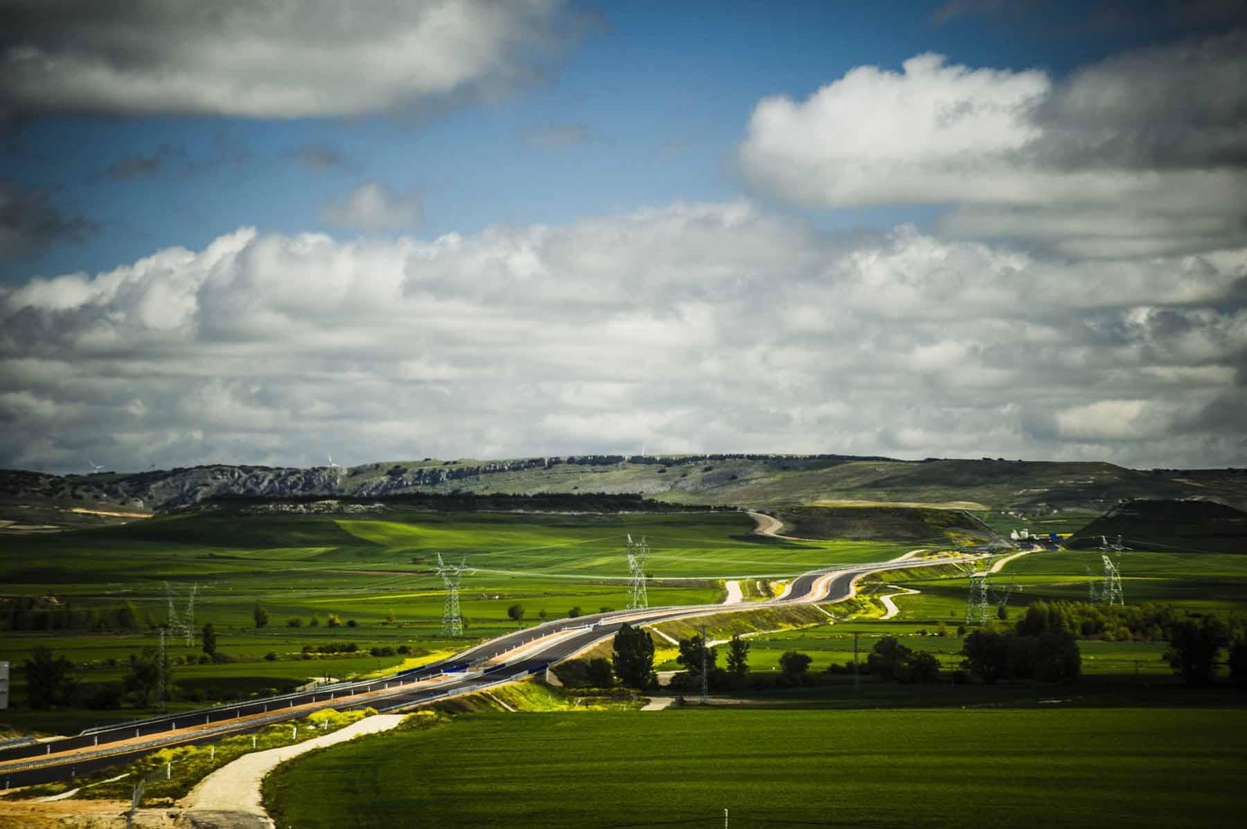 Autovía A-73 Burgos-Aguilar de Campoo.