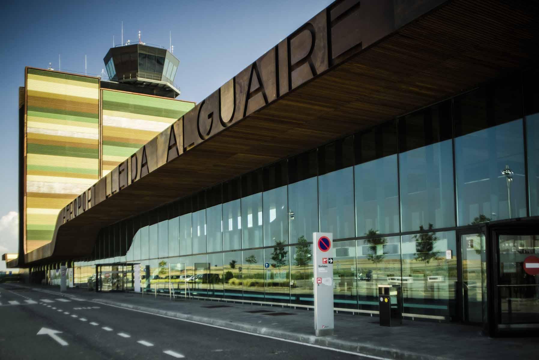 Lleida-Alguaire Airport.